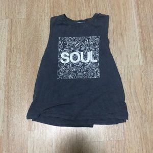 Soulcycle Gray t shirt
